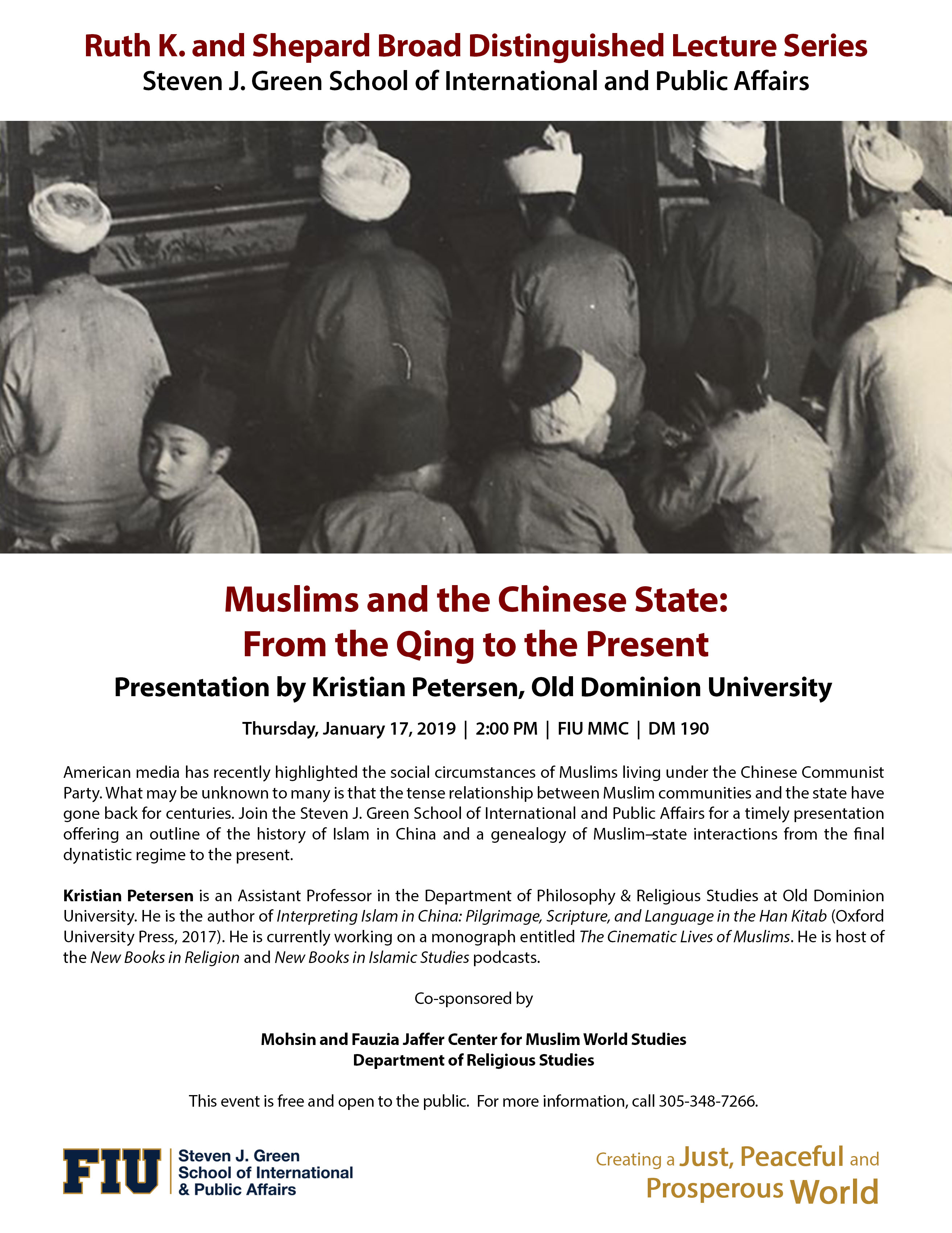 Muslims and the Chinese State: From the Qing to the Present